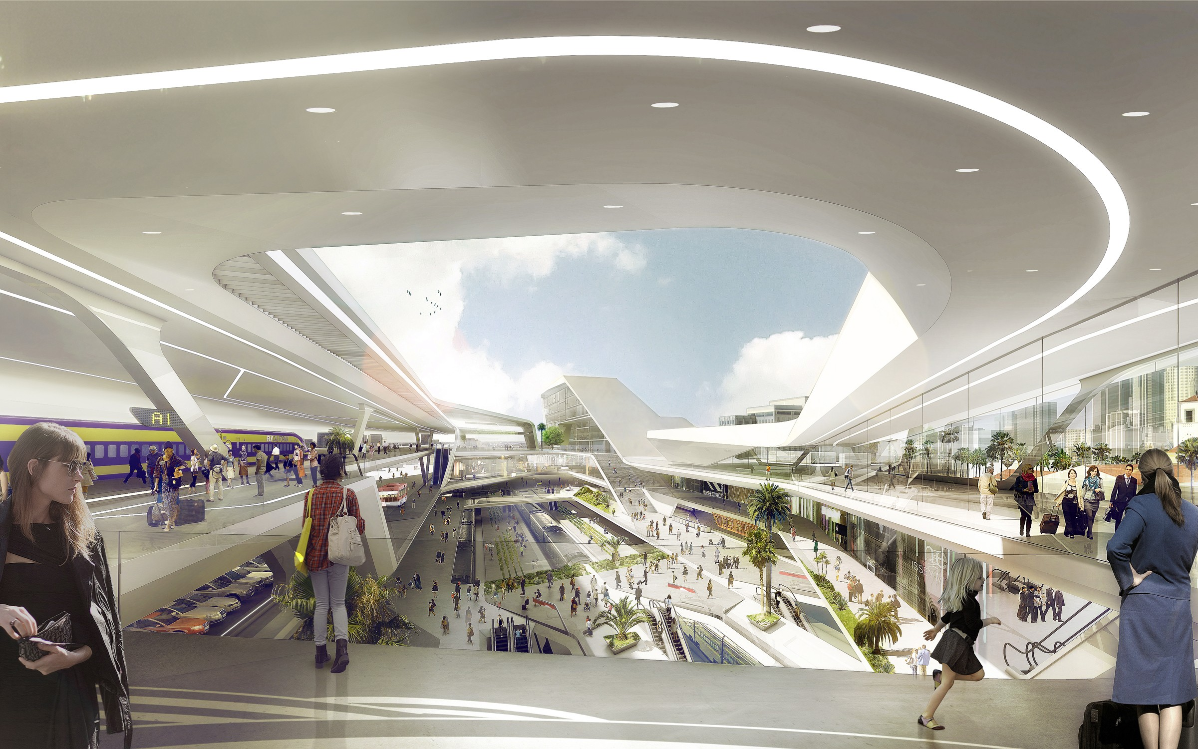 Archdata Vision For Master Plan Union Station 2050