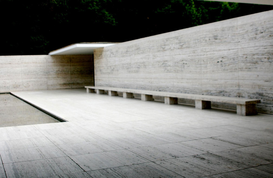 Archdata | The Barcelona Pavilion