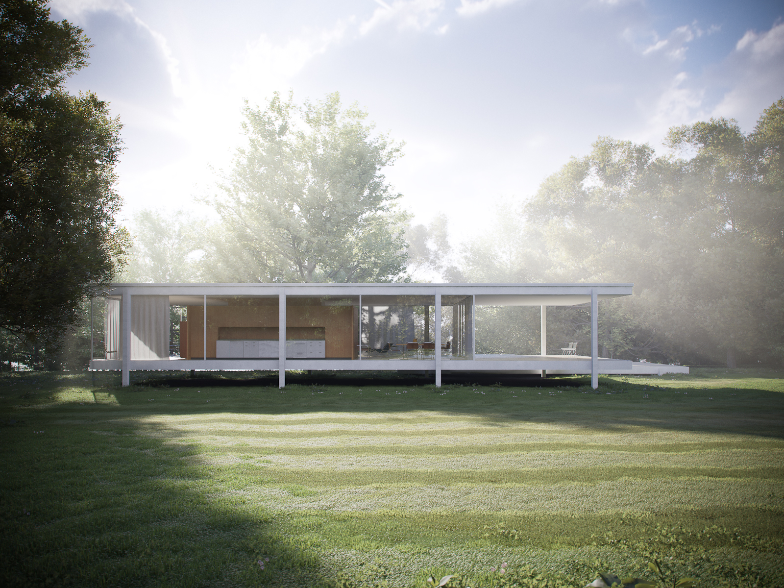 Archdata Farnsworth House